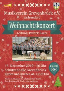 Einladung zum Weihnachtskonzert 2019