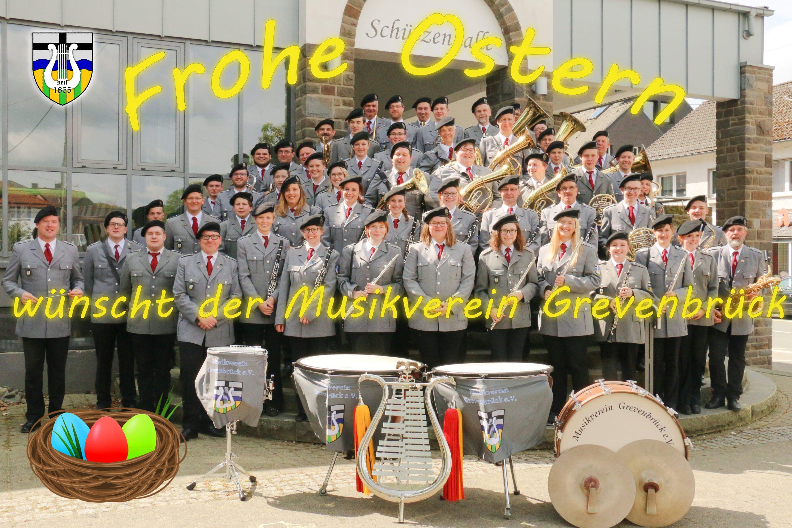 Der Musikverein Grevenbrück wünscht euch frohe Ostertage! ☀️🐰