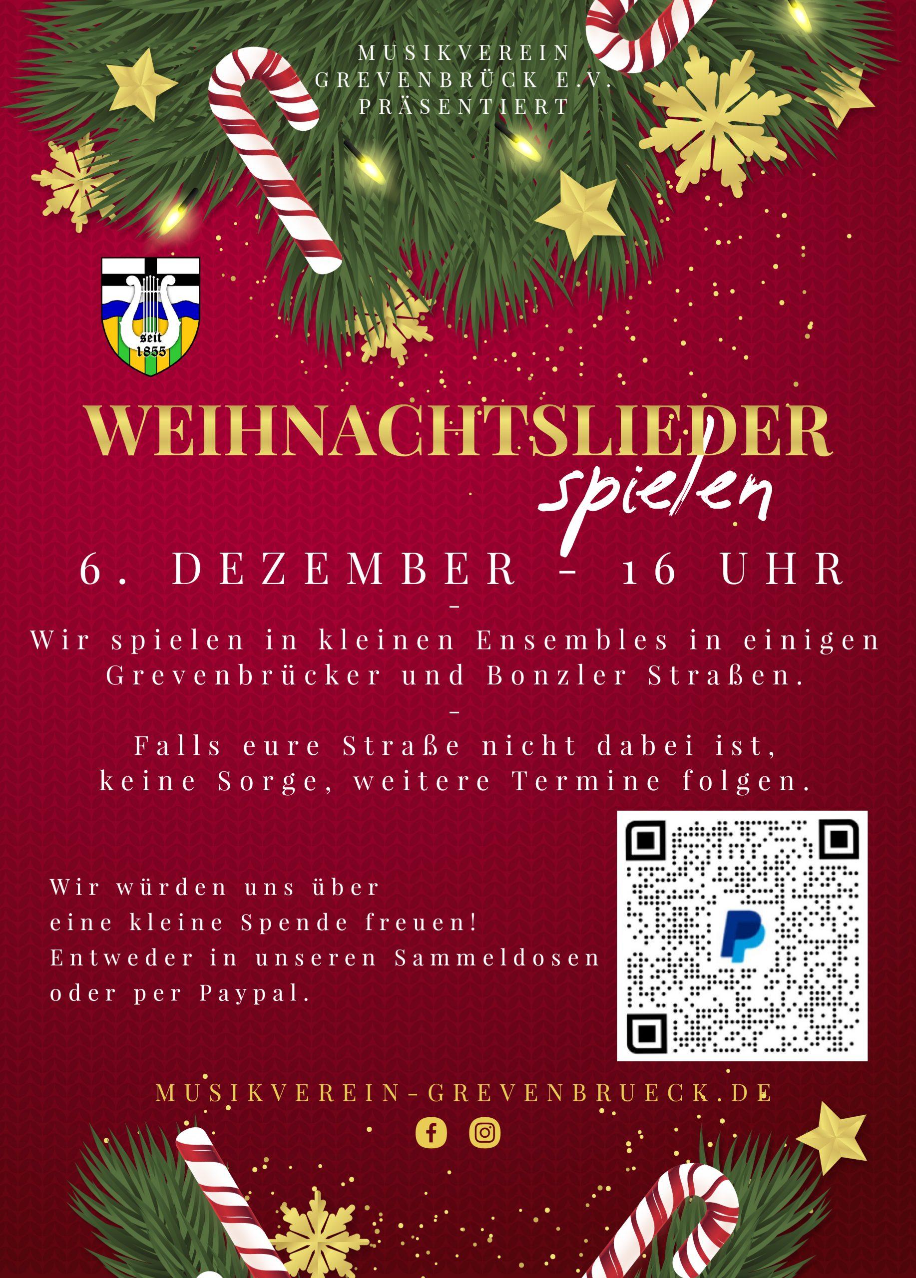 You are currently viewing Weihnachtslieder spielen!